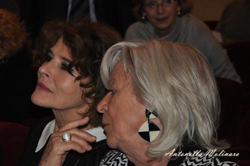 L'attrice Fanny Ardant e la regista Margarethe Von Trotta