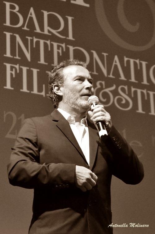 L'attore e regista Paolo Sassanelli