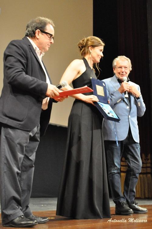 L'attrice Lucia Mascino Premio Anna Magnani per la migliore attrice protagonista