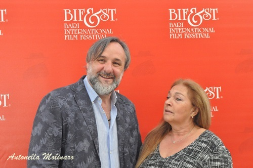 Gli attori Maurizio Donadoni e Anna Melato