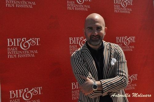 Lo scrittore e regista Donato Carrisi