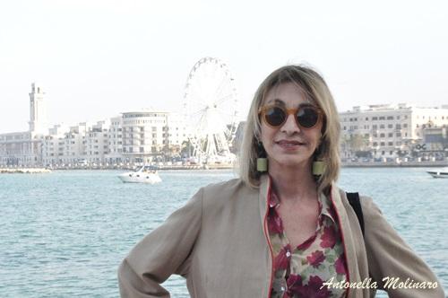 L'attrice Anna Bonaiuto