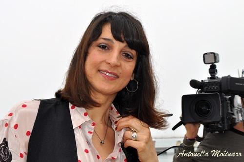 L'attrice Donatella Finocchiaro