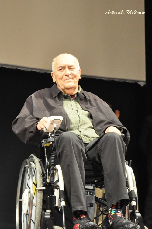 Il regista Bernardo Bertolucci