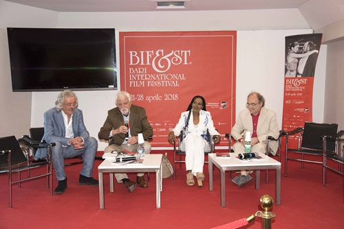 Massimo Cristaldi, Jean Gili, Zeudi Araya e Maurizio Nichetti