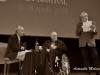 Il regista Bernardo Bertolucci con David Grieco e Felice Laudadio