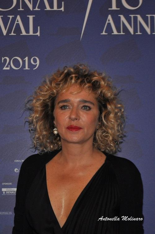 L'attrice e regista Valeria Golino