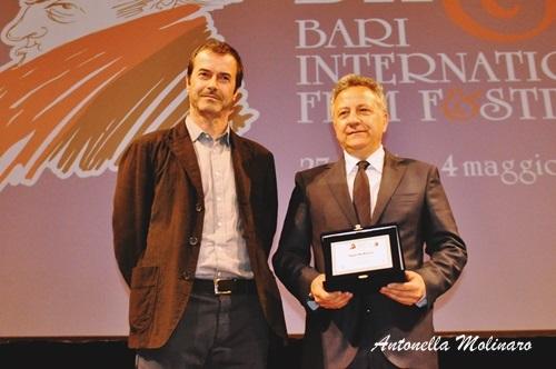 Paolo Del Brocco con Andrea Occhipinti