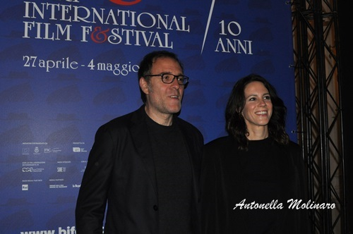 Valerio Mastandrea con Chiara Martegiani