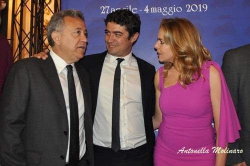 Non sono un assassino: Paolo Del Brocco e gli attori Claudia Gerini e Riccardo Scamarcio