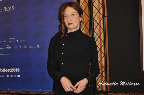 L'attrice Alba Rohrwacher
