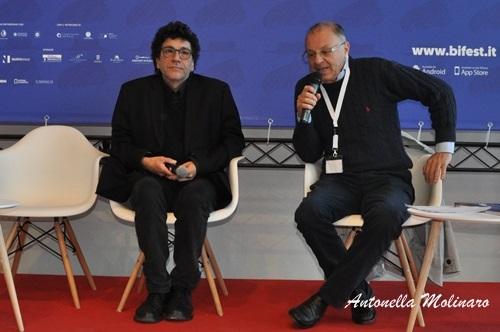 Il direttore della fotografia Daniele Ciprì