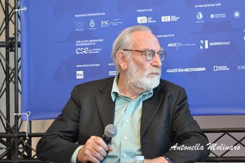 L'attore Renato Carpentieri per Ride