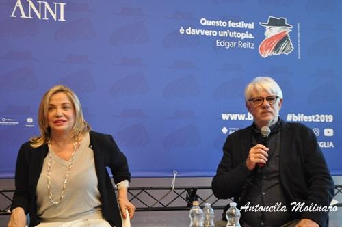 Ricky Tognazzi e Simona Izzo