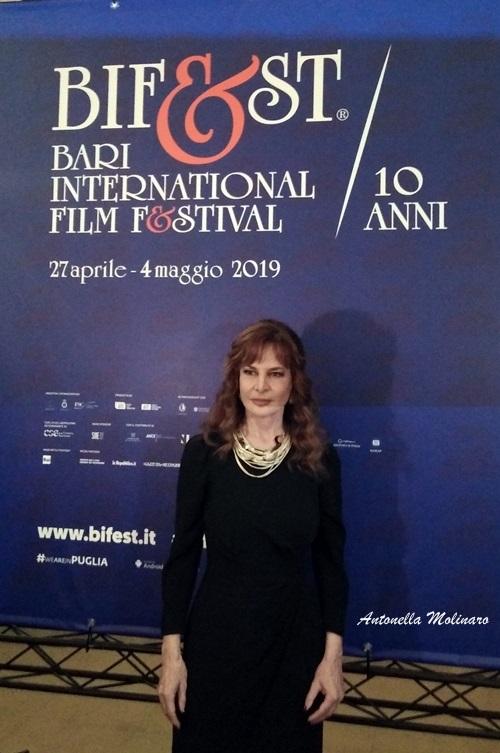 L'attrice Giuliana De Sio