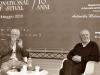 Il regista Dario Argento con il critico Jean Gili