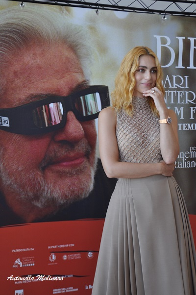 L\'attrice Miriam Leone