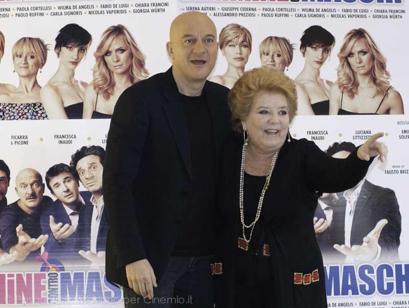 Claudio Bisio e Wilma De Angelis