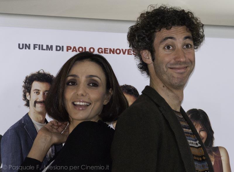 Ambra Angiolini e Paolo Kessisoglu