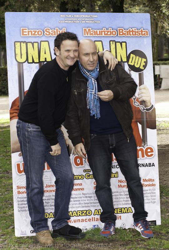 Maurizio Battista, Enzo Salvi