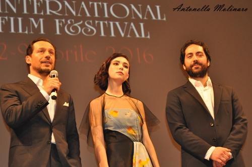 Stefano Accorsi, Matilda De Angelis e Matteo Rovere