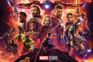 Avengers Infinity War locandina