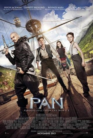 Pan, viaggio sull'isola che non c'è