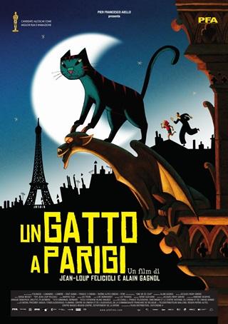 Un Gatto a Parigi film