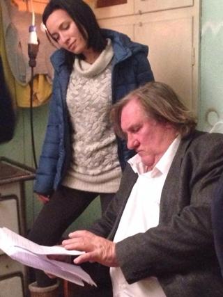 Claudia Fratarcangeli Gerard Depardieu