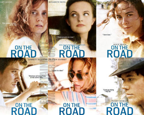 on the road il film