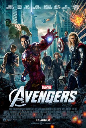 locandina del film The Avengers